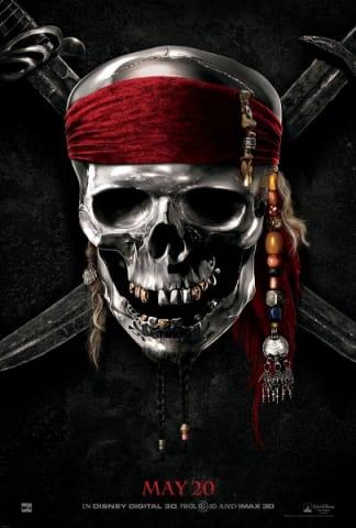 pirates of the caribbean on stranger tides teaser poster