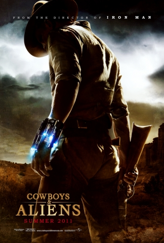 cowboys and aliens movie poster