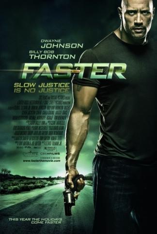 faster poster - dwayne johnson