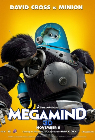megamind poster - david cross - minion