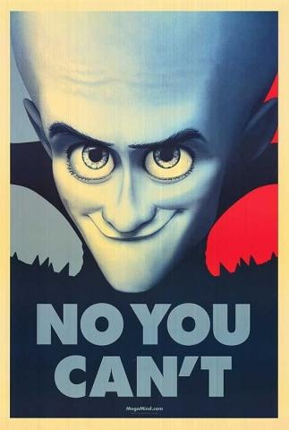 megamind - obama parody poster