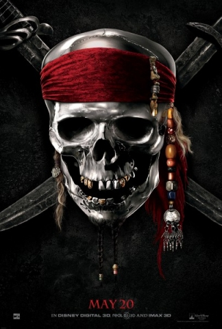 pirates of the caribbean on stranger tides teaser poster