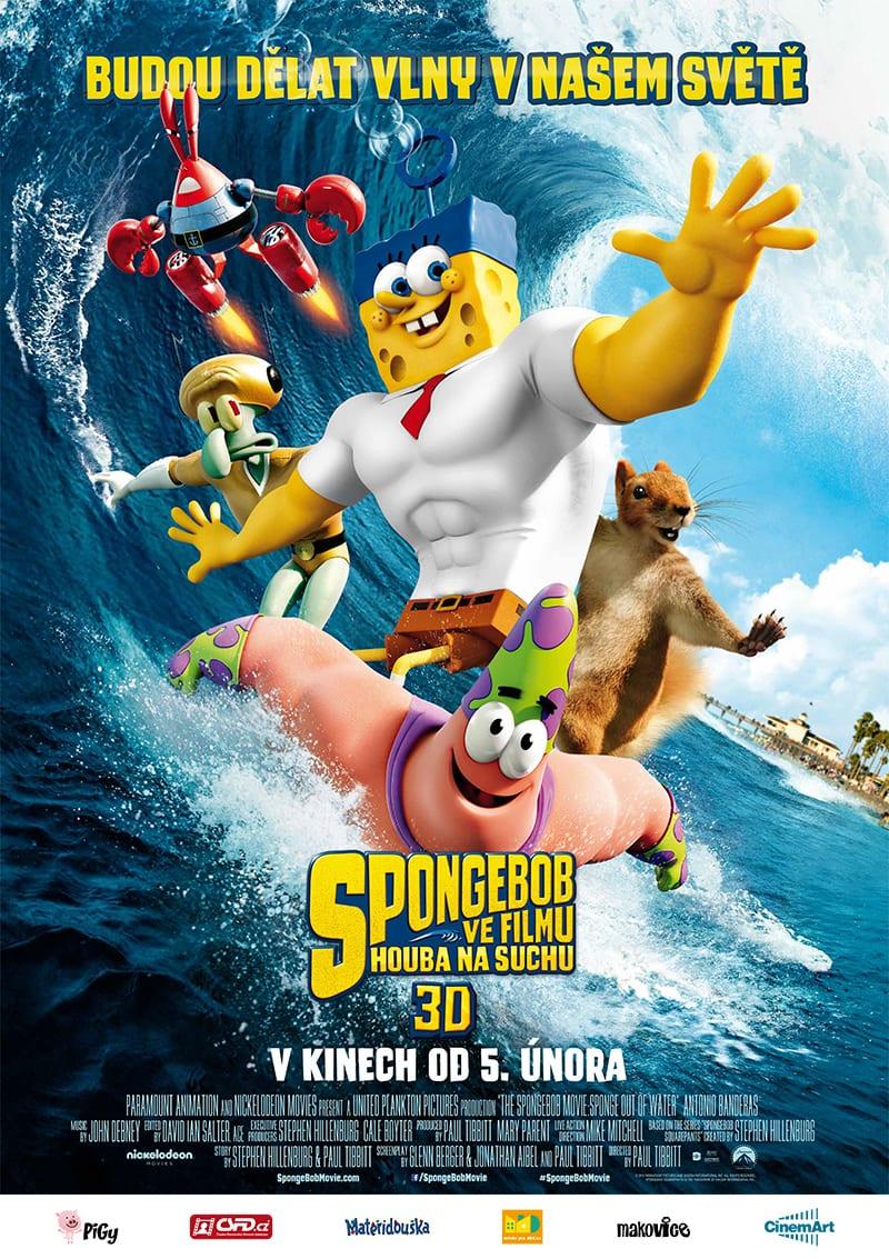 spongebob_houba_na_suchu_plakat