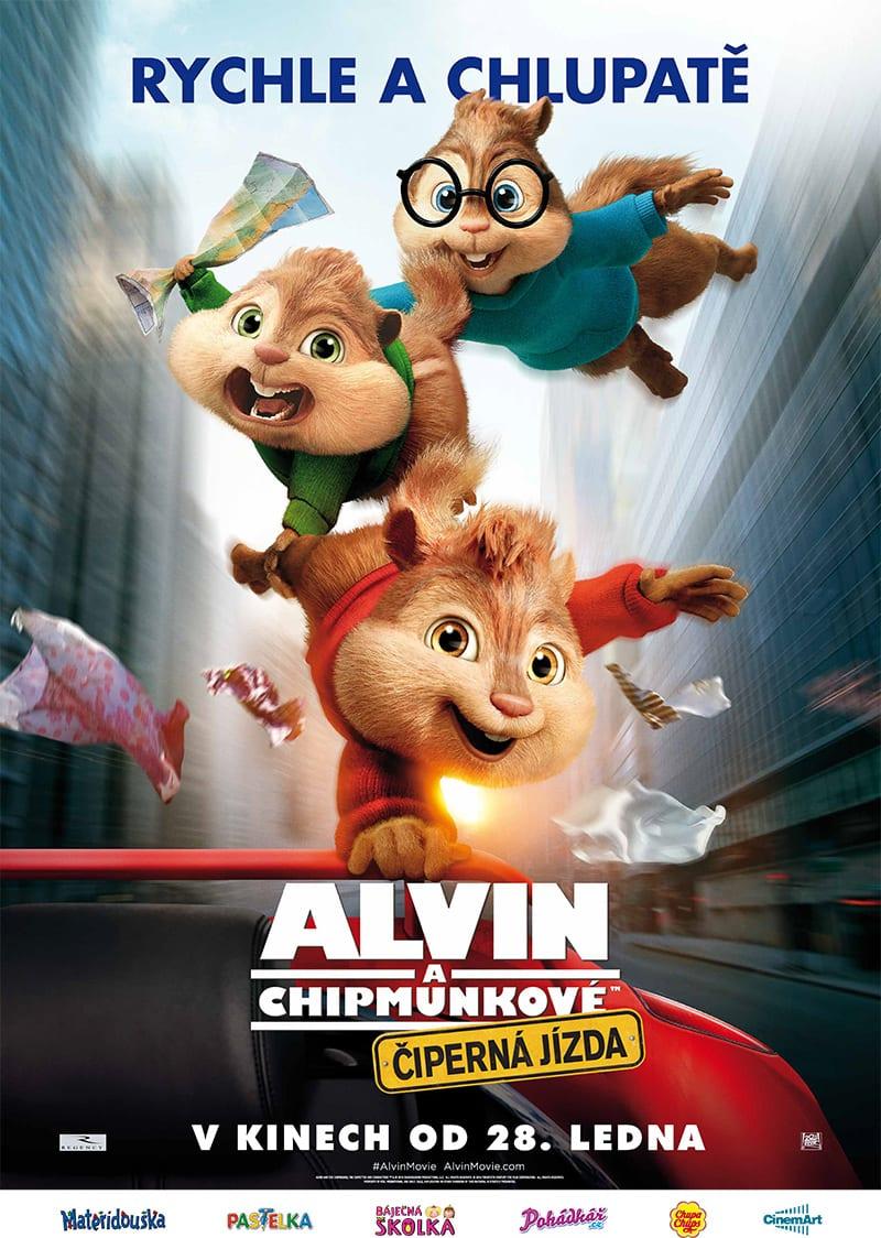 alvin_a_chipmunkove_ciperna_jizda_plakat