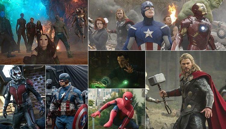 avengers jak jdou po sobě